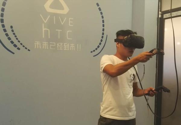 常德VR体验店,位于德山网咖之中