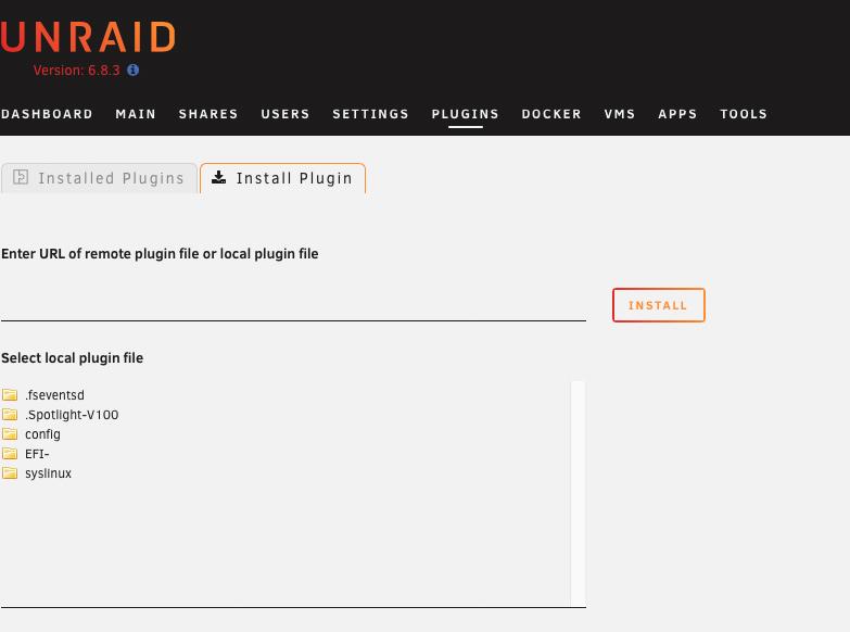 Unraid安装应用商城apps故障 -已经解决